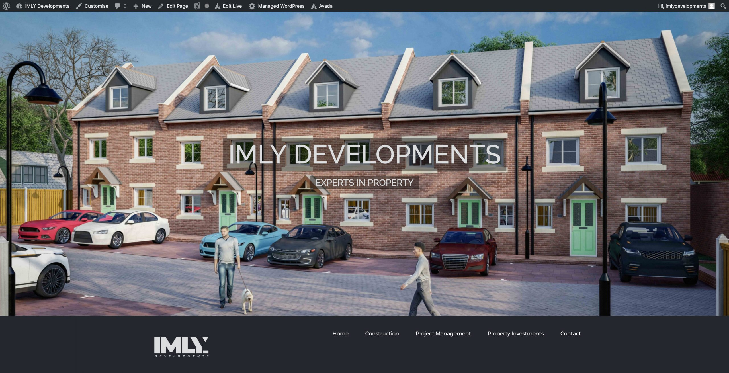IMLY Developments Full Screen